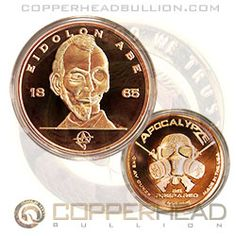 Bullion Coins & Paper Money Selfless 3-1oz Silver Walking Liberty Dollars With Bonus 3-1oz Copper Rounds...#5