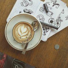 Doodle session with coffee.  #doodles #36daysoftype #singapore #wanderlust #coffee #커피 #design #sketch #art #pen #letters #moji #type #cartoon #дизайн #буквы #alphabet #арт #скетч #デザイン#アート#グラフィック#文字#디자인 #일러스트 #아트 #illustration #иллюстрация #イラストレーション by oritakemura