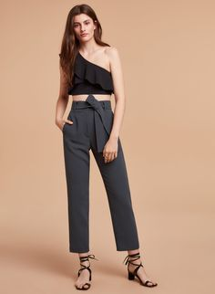 0bfcd9f240 Wilfred JALLADE PANT | Aritzia Belt Tying, What To Wear, Japanese Fabric,  Jumpsuit