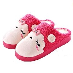 Blubi Women's Velvet Lined Cartoon Sheep Sheep Slippers Cute Womens Slippers >>> Awesome product. Click the image at Women's Shoes board