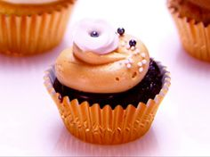 Chocolate Salted Caramel Cupcakes Recipe : Food Network - FoodNetwork.com