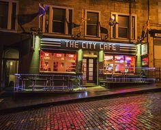 The City Cafe, Edinburgh - Scottish breakfast in an old-school american surrounding