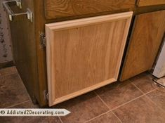 Bathroom Makeover Day 3 – How To Make Cabinet Doors (Without Using Special Tools)