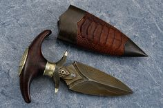a VERY primitive push dagger