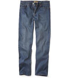 Jeans 5 Poches Bleu Used #atlasformen #avis #discount #livraison #commande