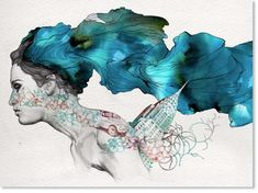 Surreal Watercolor Illustrations - Gabriel Moreno Has a Sweet Artistic Style (GALLERY)