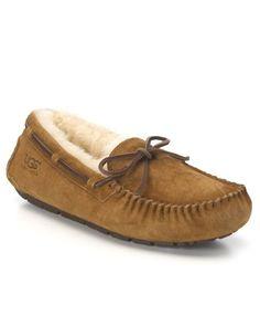 UGG® Australia Shearling Slipper Moccasins - Dakota | Bloomingdale's - size 8 or if they run small 9