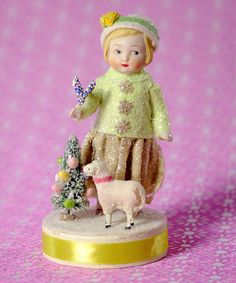 Look what I found on #zulily! Lavernia & Lamb Figurine by ESC and Company, Inc. #zulilyfinds