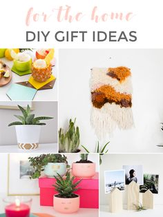 DIY HOLIDAY GIFT IDEAS: FOR THE HOME