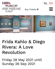 Famous Mexican, Mexican Art, Amsterdam Weekend, Diego Rivera Frida Kahlo, Museum Shop, Museum Of Modern Art, Buy Tickets, Revolution, Ideas