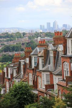 Primrose Hill - London, England - I used to live just around the corner :) <3