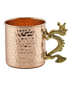 Look at this Copper Dragon Handle Mug on #zulily today!