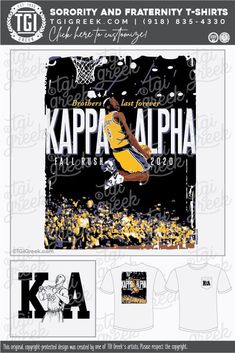 Sorority Outfits, Sorority Shirts, Tee Shirts, Alpha Fraternity, Fraternity Shirts, Bryant Lakers, Kobe Bryant, Alpha Shirt, Graphic Cow