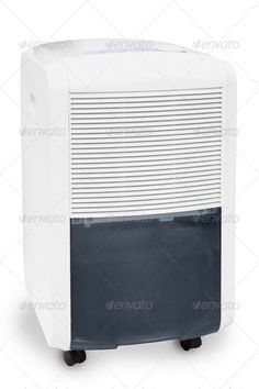 Air conditioner and moisture catcher. http://photodune.net/item/air-conditioner-and-moisture-catcher-isolated/2534410