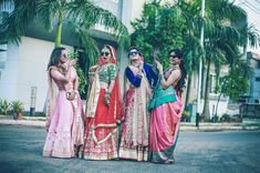 Your best friend's wedding is finally here and it's time for you to show some moves? Here are our Top 10 Bridesmaids Songs shortlisted just for you! Bridesmaid Poses, Bridesmaids, Gujarati Wedding, Wedding Photography Poses, Your Best Friend, Besties, Engagement Photos, Photo Ideas, Swag