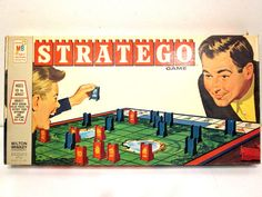 VINTAGE STRATEGO BOARD GAME - 1970