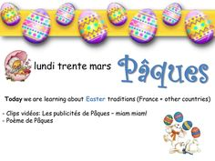 French Easter lessons 2015