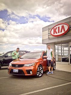 Picking up a new Kia Koup in Newmarket, Ontario!