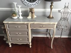 Hey, I found this really awesome Etsy listing at https://www.etsy.com/listing/471452751/shabby-chic-rustic-deskvanity-henry-link