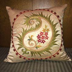 Handmade Suzani Silk Pillowcase Suzani Pillow Uzbek Suzani