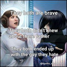 Why princess Leia and Agatha are the same... #sge #sw