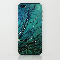magical night iPhone & iPod Skin by Sylvia Cook Photography - $15.00
