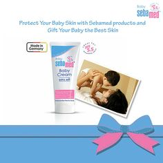Newborn skin is delicate so is the baby's immune system. Chemicals, fragrances, dyes in clothing, and harsh baby products can cause newborn skin irritation, dryness, and rashes. Sebamed Baby Cream - Extra Soft with pH5.5 smoothens the baby's skin and helps to soothe the irritated skin. This cream can be conveniently applied on the baby's buttocks and cures irritation due to dry skin.