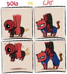 💙 Film: Spiderman and Deadpool ________________________________________ Avengers Humor, Marvel Avengers, Hero Marvel, Funny Marvel Memes, Marvel Jokes, Marvel Dc Comics, Funny Comics, Deadpool X Spiderman, Deadpool Comics