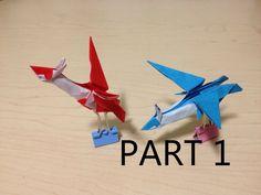 Tutorial - Origami Latios/Latias (Part 1)