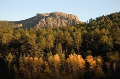Harney Peak is the tallest point in the U.S. east of the Rockies. (Photo courtesy of South Dakota Tourism)