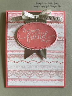 For today's card I'm using some FREE items from the Sale-a-bration catalog along with a new stamp set from the Occasions Catalog (and one I'm super excited about). My card starts …
