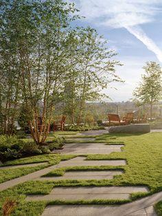 Yawkey Outpatient Center garden / Anton Grassl/Esto