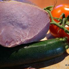 Domowa polędwica wędzona Zucchini, Vegetables, Food, Essen, Vegetable Recipes, Meals, Yemek, Veggies, Eten