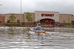 Miller Hill Target Parking Lot in Duluth