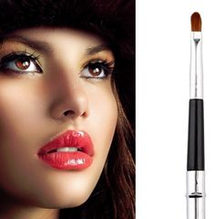All small but smart make up accessories that you need ever. Travel Toiletries, Lip Brush, Makeup Brushes, Pouch, Lipstick, Make Up, Cosmetics, Bag, Accessories
