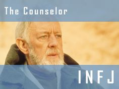 Spot on~ I got : The Counselor: INFJ (Obi-Wan Kenobi)! What Is Your Star Wars Personality Type?