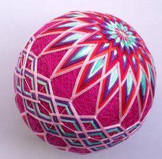 Bolas Temari. El arte textil japonés de la abuela de NanaAkua