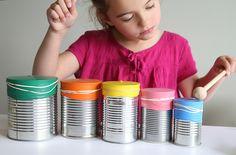 Music Instruments Diy, Instrument Craft, Drum Lessons For Kids, Drums For Kids, Drums Artwork, Diy Drums, Gretsch Drums, Indoor Crafts, Drum Music
