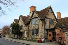 K Williams Stratford Upon Avon Hall's Croft, Stratford-upon-Avon, Warwickshire,was owned by William ...