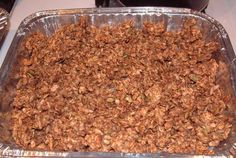Homemade Granola Crunch | VegWeb.com, The World's Largest Collection of Vegetarian Recipes