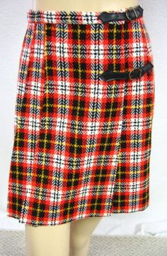 The kilt...who could forget these in the 70's...it's missing the infamous safety pin though...had to have one of those.