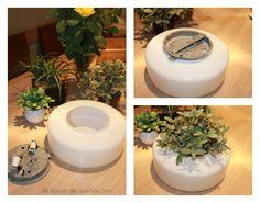 MI RINCÓN DE SUEÑOS: Reciclar objetos para hacer maceteros