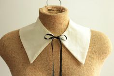 detachable peter pan collar  pattern by catparty, via Flickr