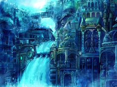 fantasy water city | Re: [Inspirational pictures] Post your pictures of fantastical cities
