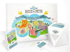 rest in pets packaging