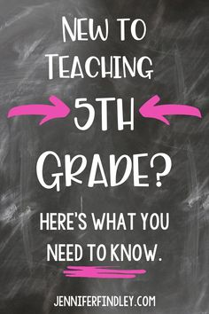 Teaching 5th grade can be challenging! Here's what you need to know to be successful.