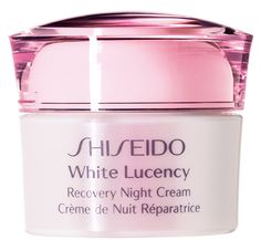#Shiseido White Lucency Recovery Night Cream