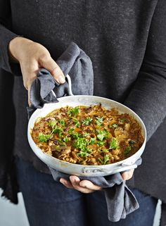 Nyhtökaurastroganoff Kermit, Chana Masala, Ethnic Recipes, Food, Meals, Yemek, Eten