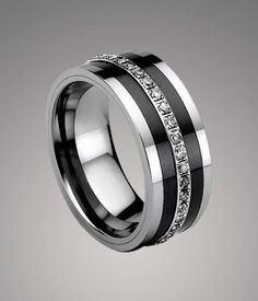 15 characters The default inner surface) Tungsten Wedding Band Ring in Comfort Fit Size. Mens Diamond Wedding Bands, Tungsten Wedding Bands, Wedding Ring Bands, The Bling Ring, Gold Diamond Earrings, Heart Earrings, Tungsten Carbide Rings, Wedding Men, Wedding Ideas