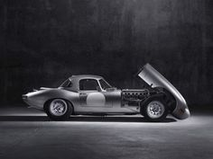 Jaguar's Special Vehicle Operations division will build the six Lightweight E-Types the company forgot to finish in the 1960s, and the prototype car was just completed for its Pebble Beach premiere.